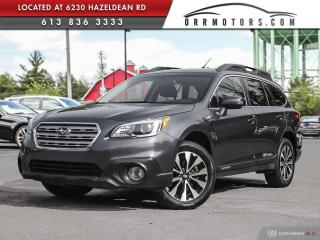 Used 2016 Subaru Outback 2.5i Limited Package AWD | NAV | REVERSE CAM | SUNROOF | HEATED LEATHER for sale in Stittsville, ON
