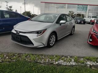 New 2020 Toyota Corolla LE + HEATED FRONT SEATS! for sale in Cobourg, ON