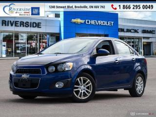 Used 2014 Chevrolet Sonic LT Auto for sale in Brockville, ON