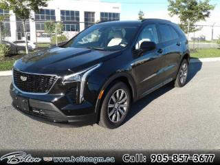 New 2020 Cadillac XT4 Sport -  Memory Seats - $300 B/W for sale in Bolton, ON