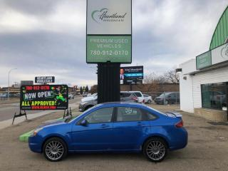 Used 2011 Ford Focus SES HEATED SEATS | CERIFIED-USED EDMONTON FORD DEALER for sale in Edmonton, AB