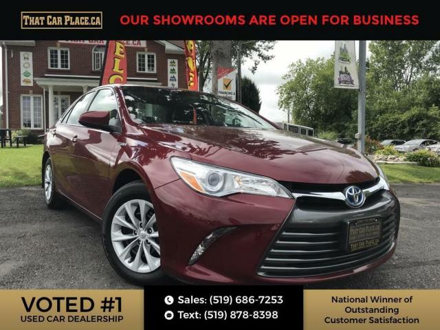 2017 Toyota Camry HYBRID LE Bluetooth System, Back Up Camera, Local Trade, Not a Rental, CUSTOM SEAT COVERS, 2.5L I4 DOHC 16V, C