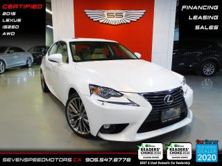 Used 2015 Lexus IS 250 IS250 AWD | CERTIFIED | LEXUS WARRANTY | FINANCE @ 4.65% for sale in Oakville, ON