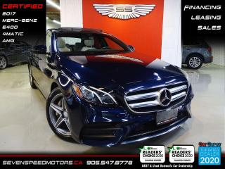 Used 2017 Mercedes-Benz E-Class E400 4MATIC AMG | ACCIDENT FREE | FINANCE @ 4.65% for sale in Oakville, ON