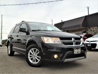 Used 2015 Dodge Journey 7 PASSENGER SXT NAVIGATION DVD SUNROOF ALLOY for sale in Oakville, ON
