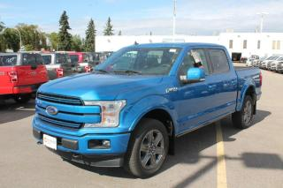 New 2020 Ford F-150 Lariat 502A, 4X4 Supercrew, 3.5L V6 Ecoboost, Auto Start/Stop, Heated Seats, Heated Steering Wheel, Lane Keeping System, Pre-Collision Assist, Rear View Camera, Remote Keyless Entry/Keypad, Remote Veh for sale in Edmonton, AB