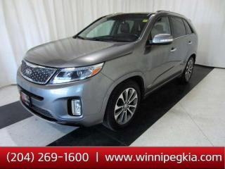 Used 2015 Kia Sorento SX 7 Seat *Loaded w/ Navi., Leather, Pano. Sunroof & More!* for sale in Winnipeg, MB