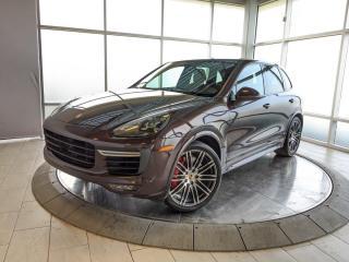 Used 2018 Porsche Cayenne Turbo | CPO | Ext. Warranty | Premium Plus | Adaptive Cruise | Sport Exhaust for sale in Edmonton, AB