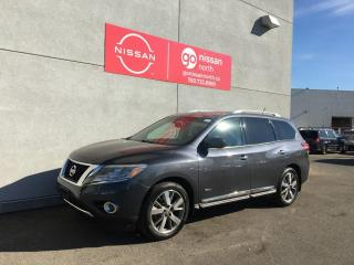 Used 2014 Nissan Pathfinder Platinum Premium Hybrid 4dr 4WD Sport Utility for sale in Edmonton, AB