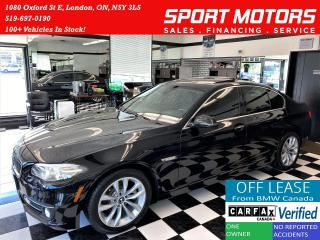 Used 2016 BMW 5 Series 528i xDrive TECH+360Camera+NewBrakes+ACCIDENT FREE for sale in London, ON
