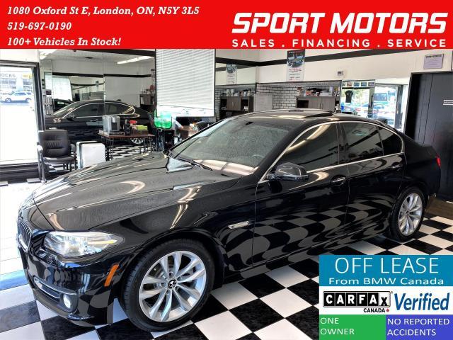2016 BMW 5 Series 528i xDrive TECH+360Camera+NewBrakes+ACCIDENT FREE