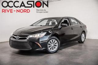 Used 2015 Toyota Camry LE A/C+GR.ELECTRIQUE for sale in Boisbriand, QC