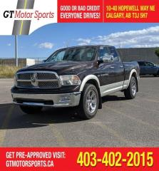 Used 2011 RAM 1500 Laramie 4x4 | $0 DOWN - EVERYONE APPROVED! for sale in Calgary, AB