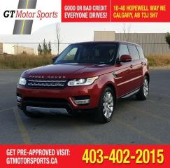 Used 2015 Land Rover Range Rover Sport V6 HSE | $0 DOWN - EVERYONE APPROVED! for sale in Calgary, AB
