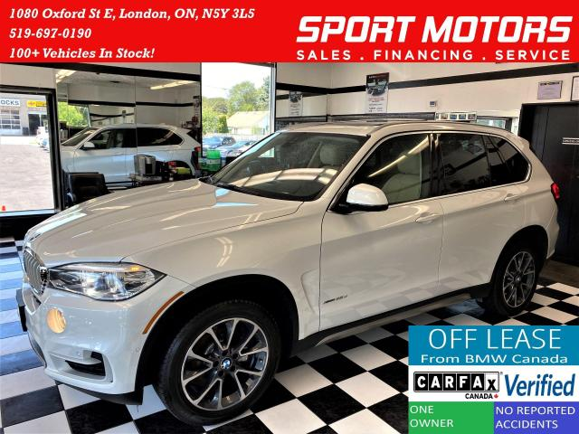 2017 BMW X5 xDrive35d TECH+360 Camera+Roof+ACCIDENT FREE
