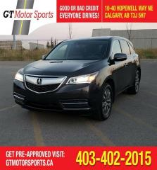 Used 2014 Acura MDX Nav Pkg | $0 DOWN - EVERYONE APPROVED! for sale in Calgary, AB