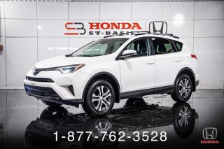 Used 2017 Toyota RAV4 LE + AWD + A/C + CAMERA + MAGS + WOW! for sale in St-Basile-le-Grand, QC