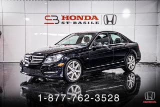 Used 2012 Mercedes-Benz C-Class C350 + 4MATIC + NAVI + TOIT + WOW! for sale in St-Basile-le-Grand, QC