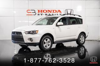 Used 2011 Mitsubishi Outlander LS + 4WD + A/C + CRUISE + WOW! for sale in St-Basile-le-Grand, QC