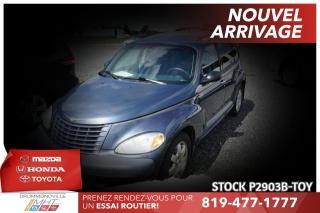 Used 2003 Chrysler PT Cruiser PROPRIO DEPUIS 2006| TRÈS PROPRE! BAS KILO for sale in Drummondville, QC