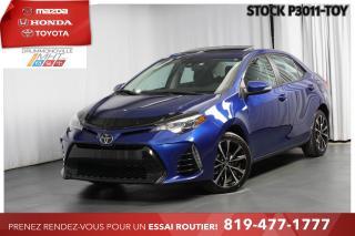 Used 2017 Toyota Corolla SE| TOIT| VOLANT CHAUFFANT for sale in Drummondville, QC