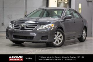 Used 2011 Toyota Camry LE 4 CYL AUTO; A/C SIEGES CHAUFFANT MAGS CLIMATISATION - SIÈGES AVANT CHAUFFANT - SIÈGE CONDUCTEUR ÉLECTRIQUE - MAGS 16'' for sale in Lachine, QC