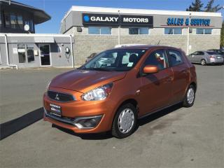Used 2017 Mitsubishi Mirage ES - Manual Trans AUX Input for sale in Victoria, BC
