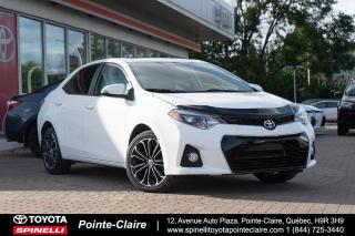 Used 2015 Toyota Corolla SPORT UPGRADE MAGS, TOIT for sale in Pointe-Claire, QC