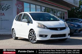 Used 2013 Honda Fit SPORT 5 VITESSE for sale in Pointe-Claire, QC