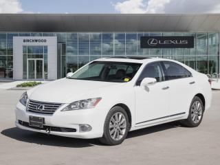 Used 2012 Lexus ES 350 Executive Edition for sale in Winnipeg, MB