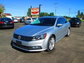 Used 2016 Volkswagen Passat SEL Premium 6A for sale in Alvinston, ON
