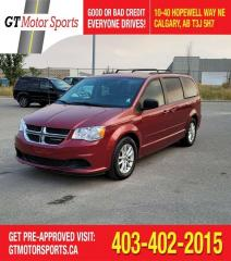 Used 2015 Dodge Grand Caravan SXT | $0 DOWN - EVERYONE APPROVED! for sale in Calgary, AB