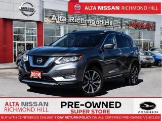 Used 2018 Nissan Rogue SL Plat.   Leather   360   Pano   Heated Steering for sale in Richmond Hill, ON