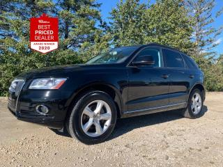 Used 2016 Audi Q5 QUATTRO *HEATED LEATHER - CLEAN HISTORY* for sale in Winnipeg, MB