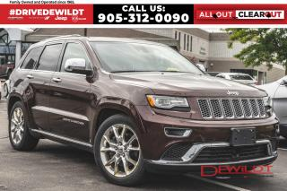 Used 2014 Jeep Grand Cherokee SUMMIT | ECO DIESEL | ONE OWNER | LOADED | for sale in Hamilton, ON