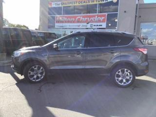 Used 2015 Ford Escape TITANIUM|NAVIGATION|LEATHER|HEATED SEATS for sale in Milton, ON