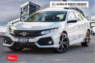 Used 2017 Honda Civic Hatchback Sport 6MT No Accident| Apple Carplay| MA for sale in Thornhill, ON