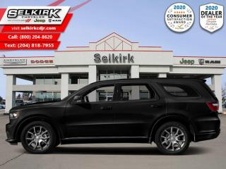 New 2020 Dodge Durango R/T - HEMI V8 - Sunroof for sale in Selkirk, MB