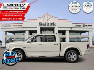 Used 2017 RAM 1500 Laramie - Leather Seats -  Cooled Seats for sale in Selkirk, MB