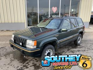 Used 1994 Jeep Grand Cherokee Limited for sale in Southey, SK