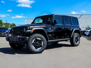 New 2021 Jeep Wrangler Unlimited Rubicon | Leather | Nav | Dual Tops for sale in Kitchener, ON