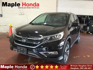 Used 2016 Honda CR-V Touring| Loaded| Remote Starter| Leather| Navi| for sale in Vaughan, ON