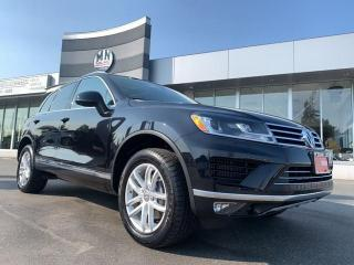Used 2016 Volkswagen Touareg 3.0 TDI DIESEL HIGHLINE AWD SUNROOF NAVI CAMERA for sale in Langley, BC