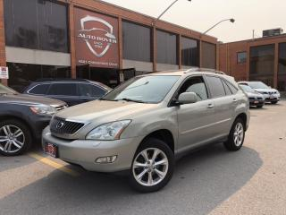 Used 2008 Lexus RX 350 4WD NAVIGATION REAR CAMERA DVD XENON'S LOCAL ONTARIO for sale in North York, ON
