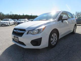 Used 2014 Subaru Impreza AWD/ONE OWNER for sale in Newmarket, ON