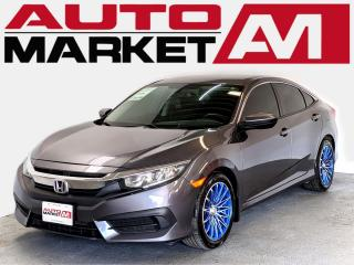 Used 2016 Honda Civic LX CERTIFIED,Back Up Camera,WE APPROVE ALL CREDIT for sale in Guelph, ON