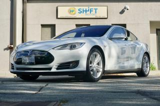 Used 2015 Tesla Model S 90D AUTOPILOT, SUB ZERO, AIR, HIFI SOUND! for sale in Burlington, ON