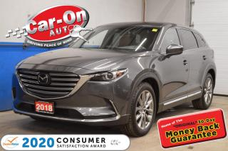 Used 2018 Mazda CX-9 SIGNATURE LEATHER SUNROOF NAVIGATION LOADED !!! for sale in Ottawa, ON