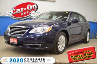 Used 2014 Chrysler 200 TOURING REMOTE STARTER | POWER AND HEATED SEAT for sale in Ottawa, ON