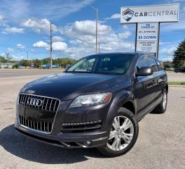 Used 2014 Audi Q7 3.0 Premium quattro | 7 SEATS | PANO ROOF | BACKUP CAM | for sale in Barrie, ON